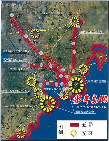 青岛跟重庆地图