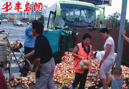 青岛集力运输集团有限公司联系,但是没有得到任何答复,因为大客车方面