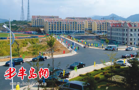 中国海洋大学崂山校区昨上午正式启用(附图)